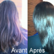 Couleur coupe brushing