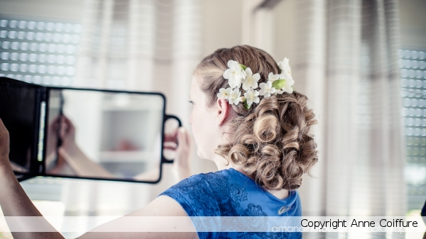 Coiffure Magali pour  Mariage 2014